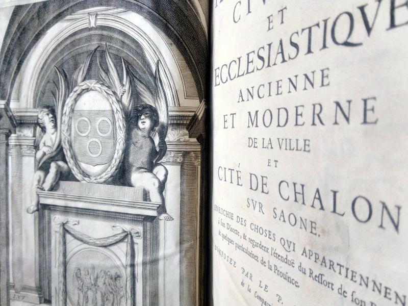 Page de titre d'un livre en fonds local