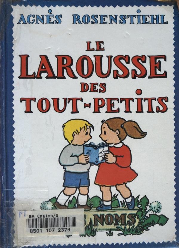 Couverture d'un livre du fonds de conservation de littérature jeunesse